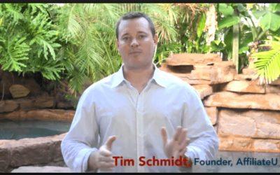 Tim Schmidt – Affiliate University