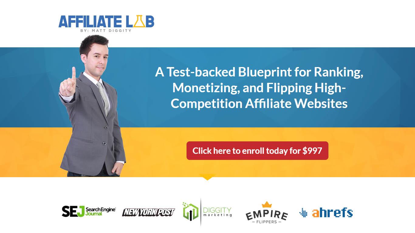 Matt Diggity – Affiliate Lab + Bonus