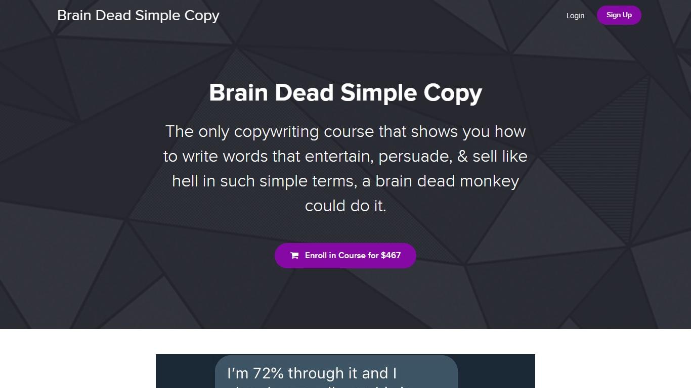 Nate Schmidt – Brain Dead Simple Copy