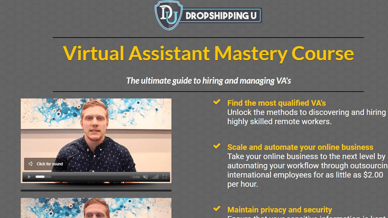 Tom Cormier – Virtual Assistant Mastery for Ecom