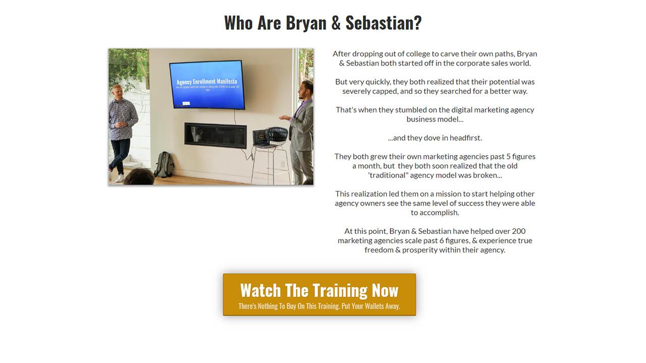 Sebastian Robeck and Bryan Ostemiller – Agency Hyper Growth