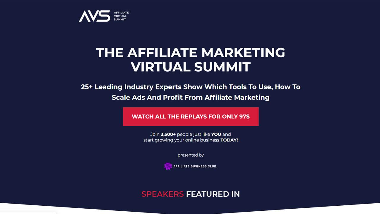 Affiliate Virtual Summit 2020
