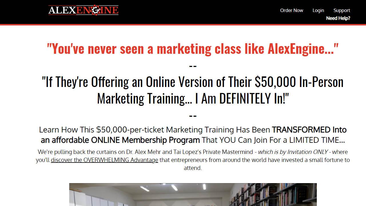 Alex Mehr – Alex Engine