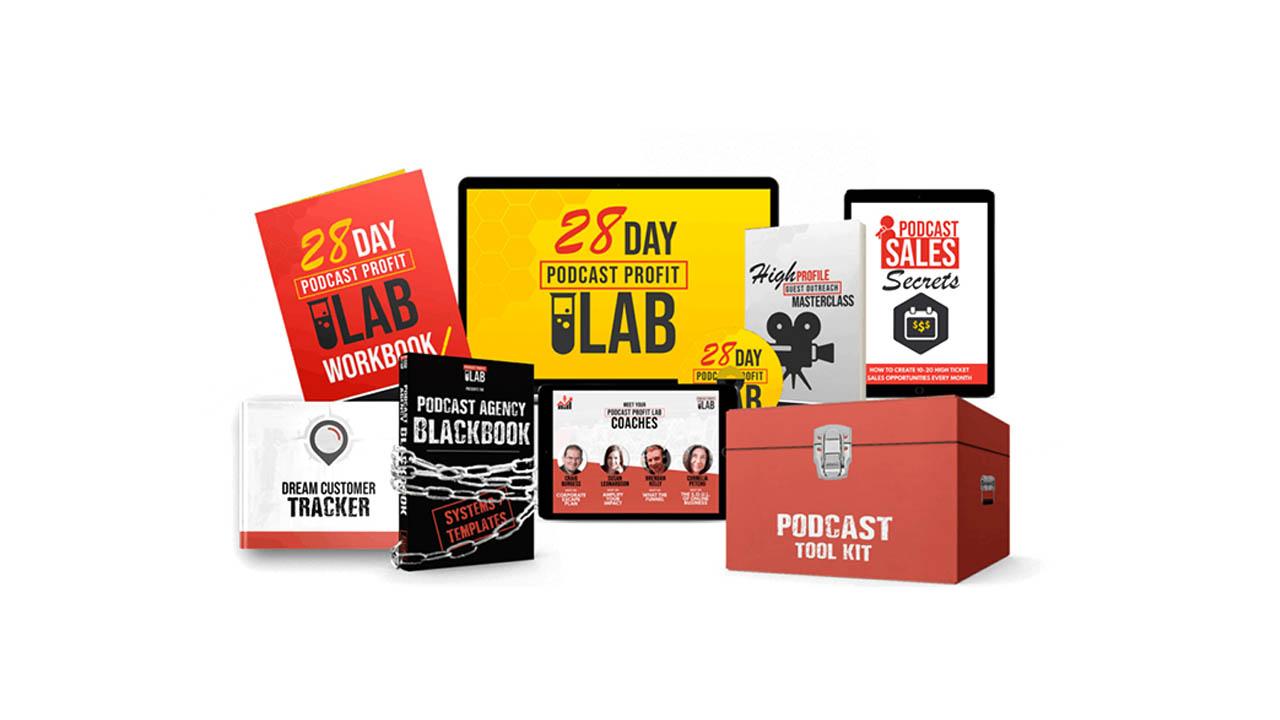 Jamie Atkinson – 28 Day Podcast Profit LAB