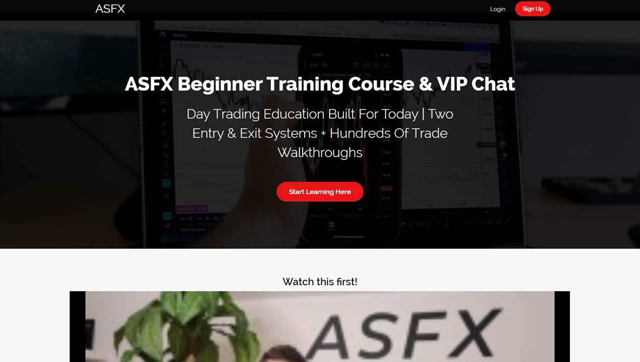ASFX Beginner Training