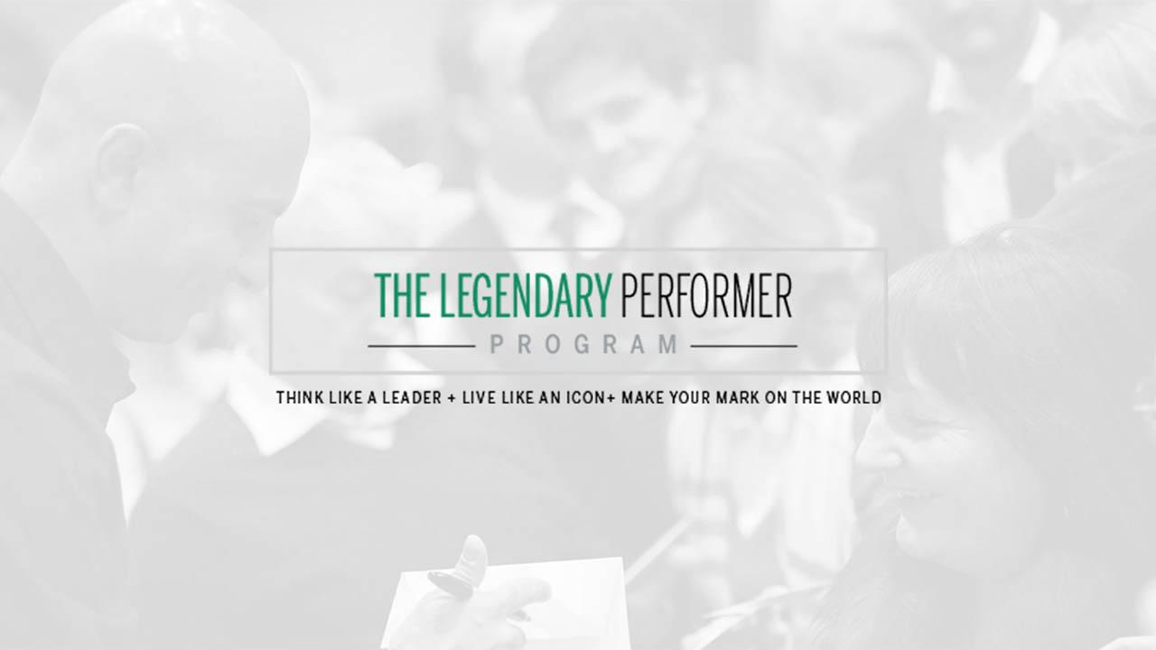 Robin Sharma – The Legendary Performer