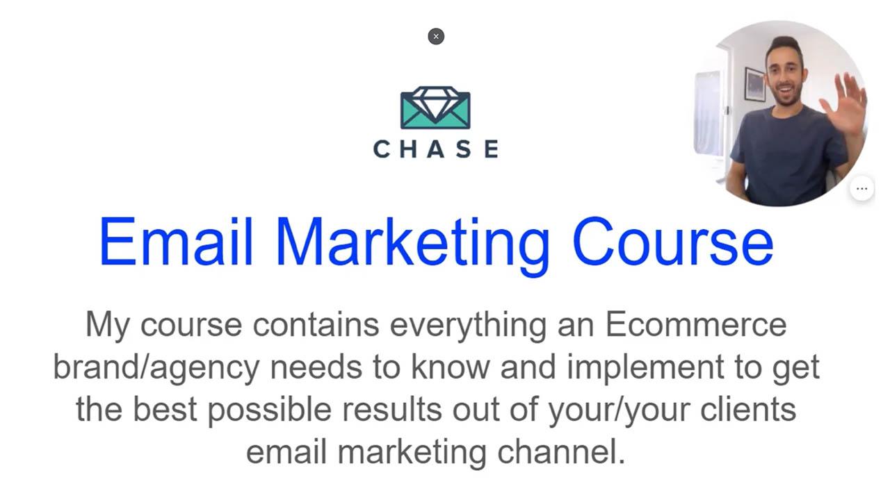 Chase Dimond – Ecommerce Email Marketing