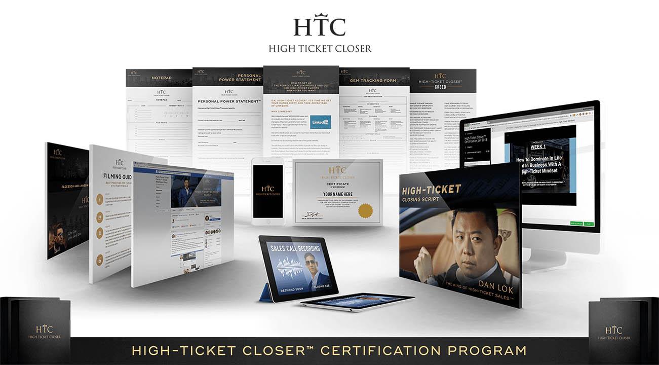 Dan Lok – High Ticket Closer 2020