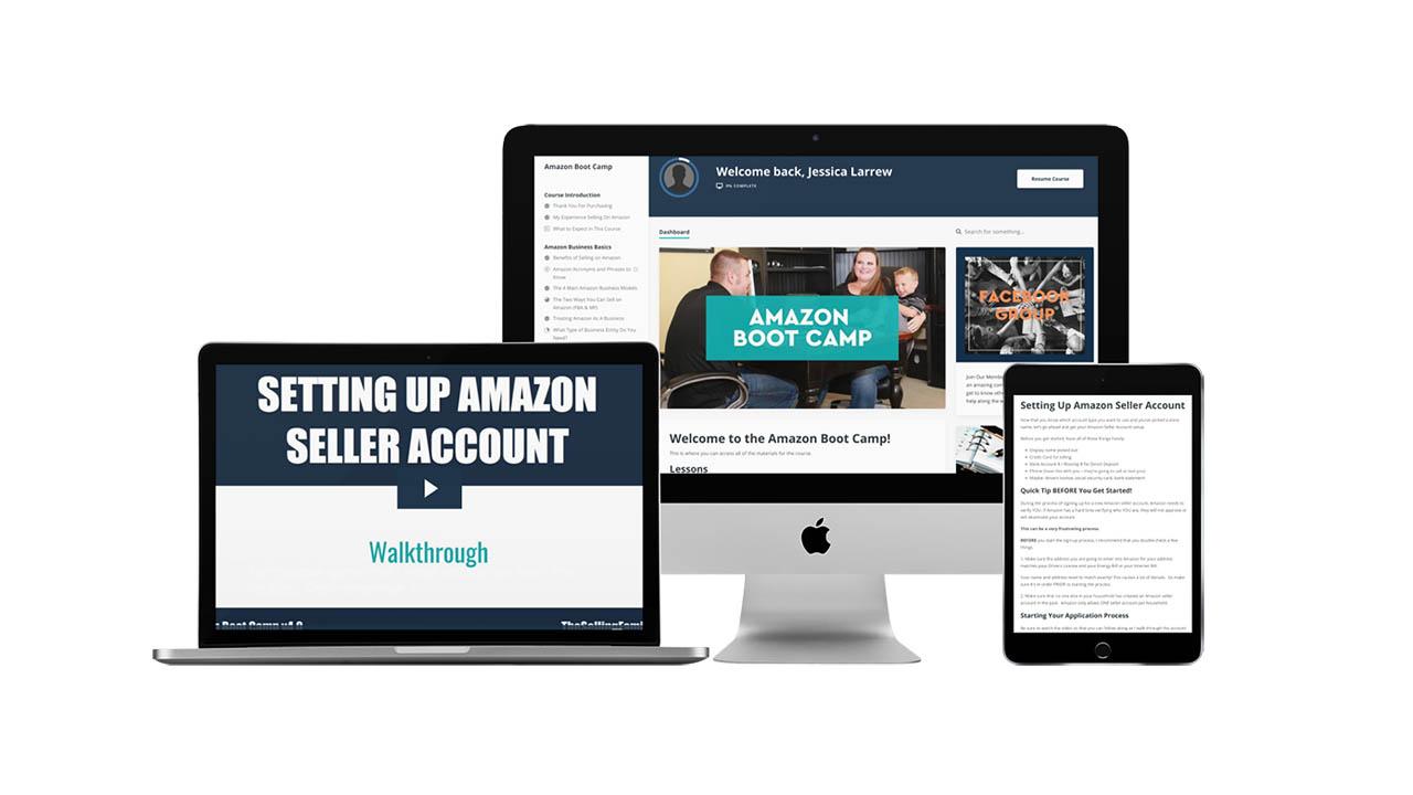 Jessica Larrew – Amazon Boot Camp