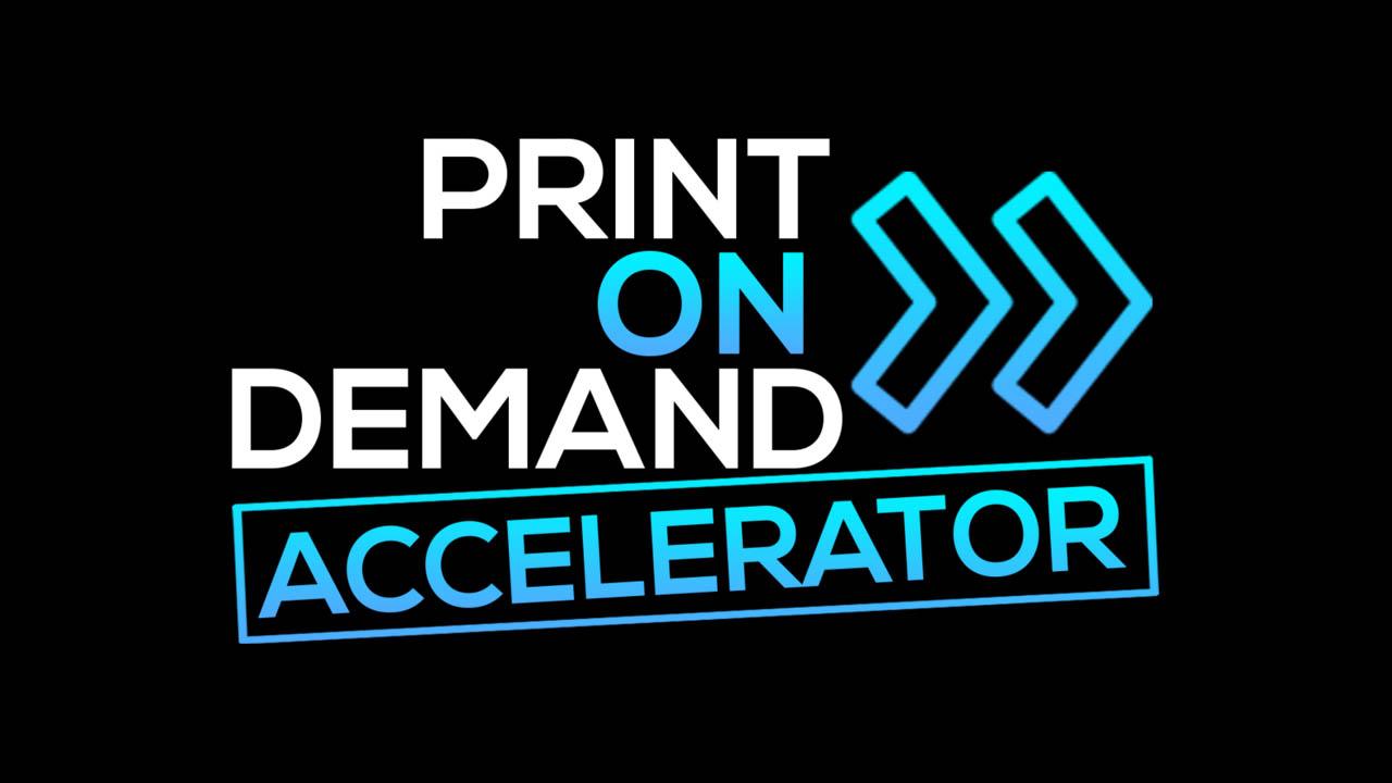 Joe Robert – Print On Demand Accelerator