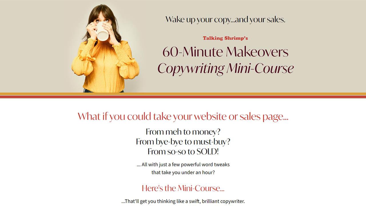 Laura Belgray – 60-Minute Makeovers Copywriting Mini-Course