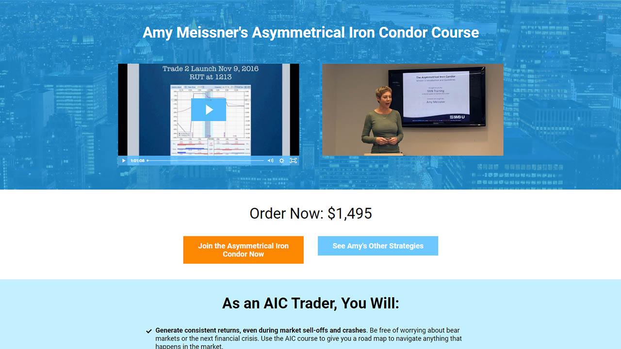 SMB Amy Meissner Asymmetrical Iron Condor