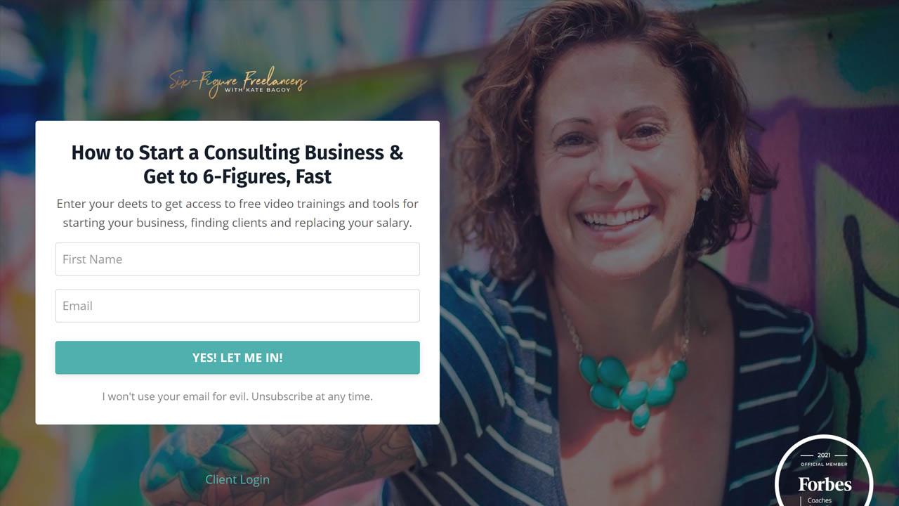 Kate Bagoy – Six Figure Freelancers