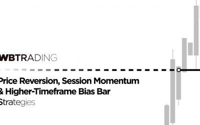 WBTrading – Price Reversion, Session Momentum & Higher-Timeframe Bias-Bar Strategies