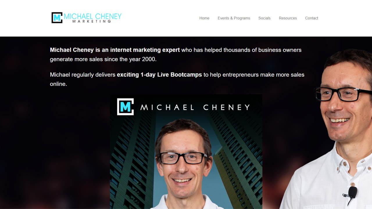 Michael Cheney – 3 Course Bundle