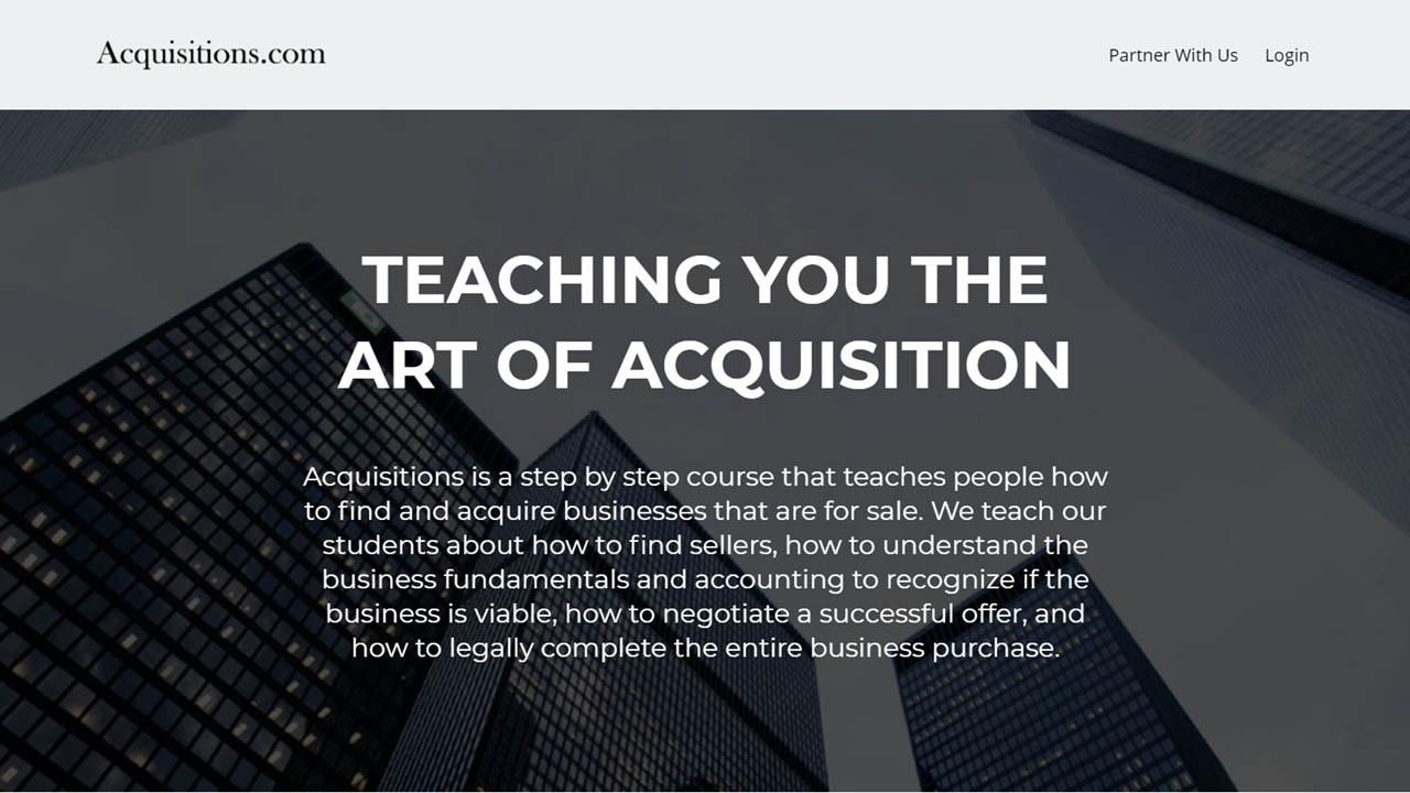 Moran Pober – Acquisitions University