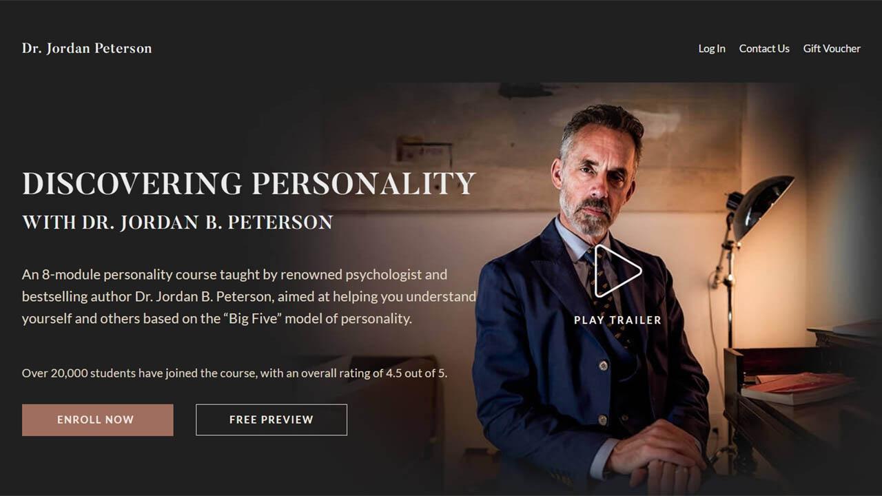 Jordan Peterson – Personality
