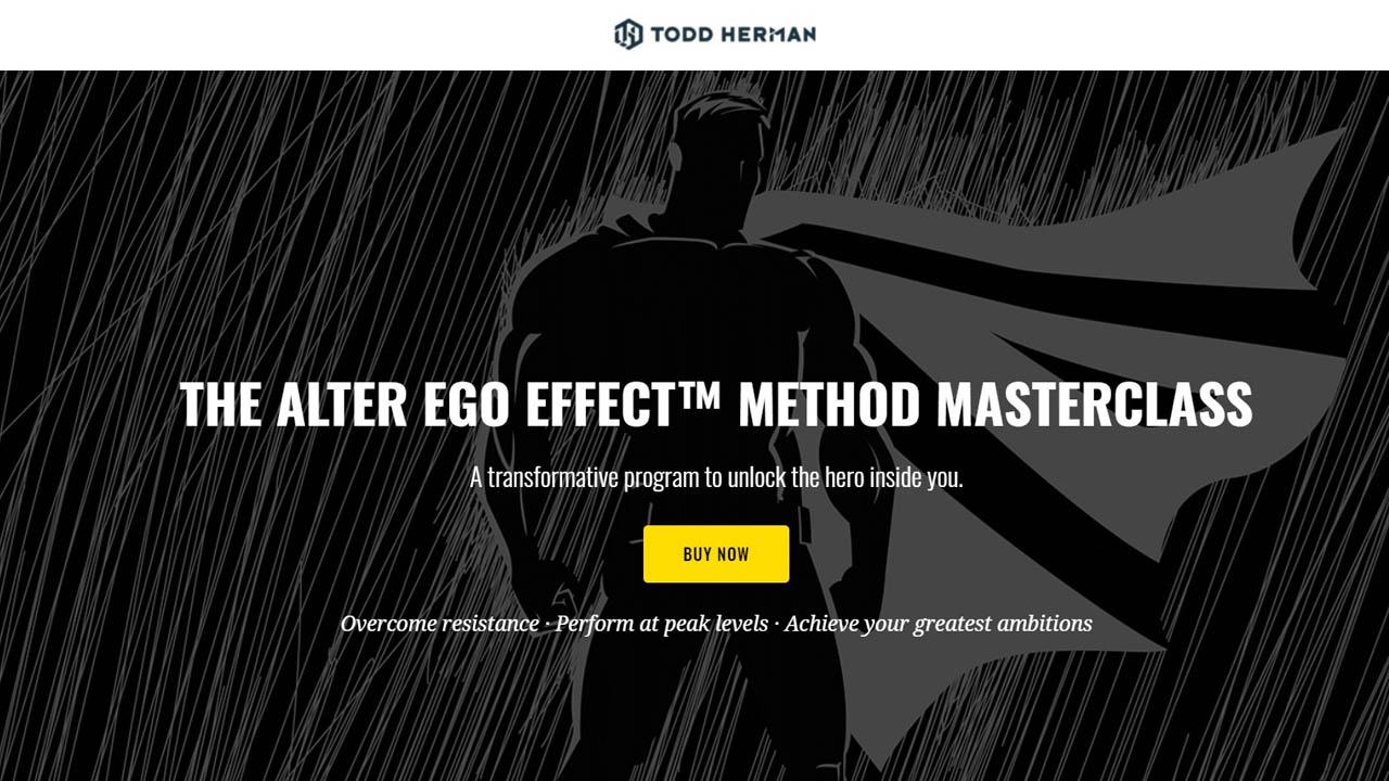 Todd Herman – Alter Ego Effect Masterclass