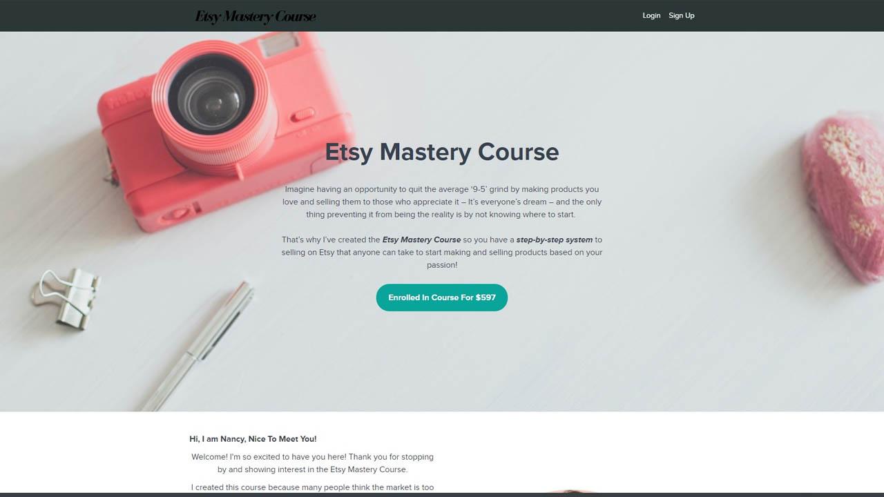 Nancy Badillo – Etsy Mastery Course