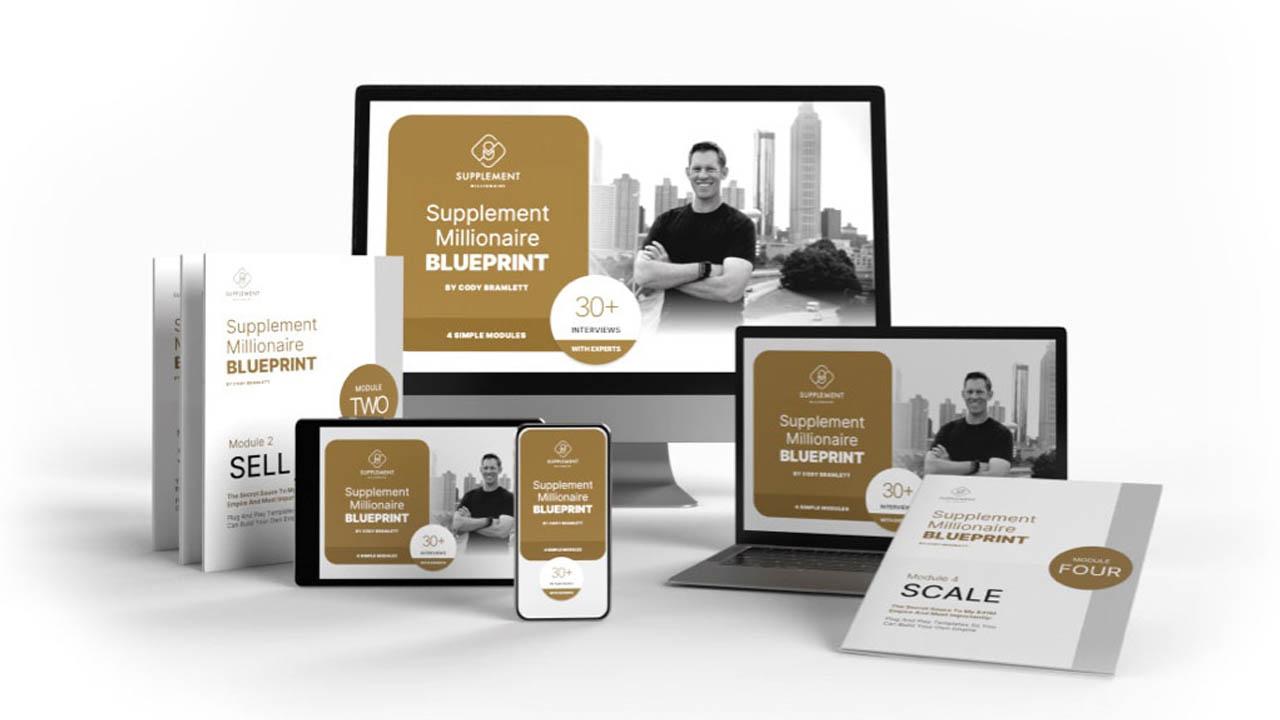 Cody Bramlett – Supplement Millionaire Blueprint