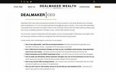 Carl Allen – Dealmaker CEO 2021